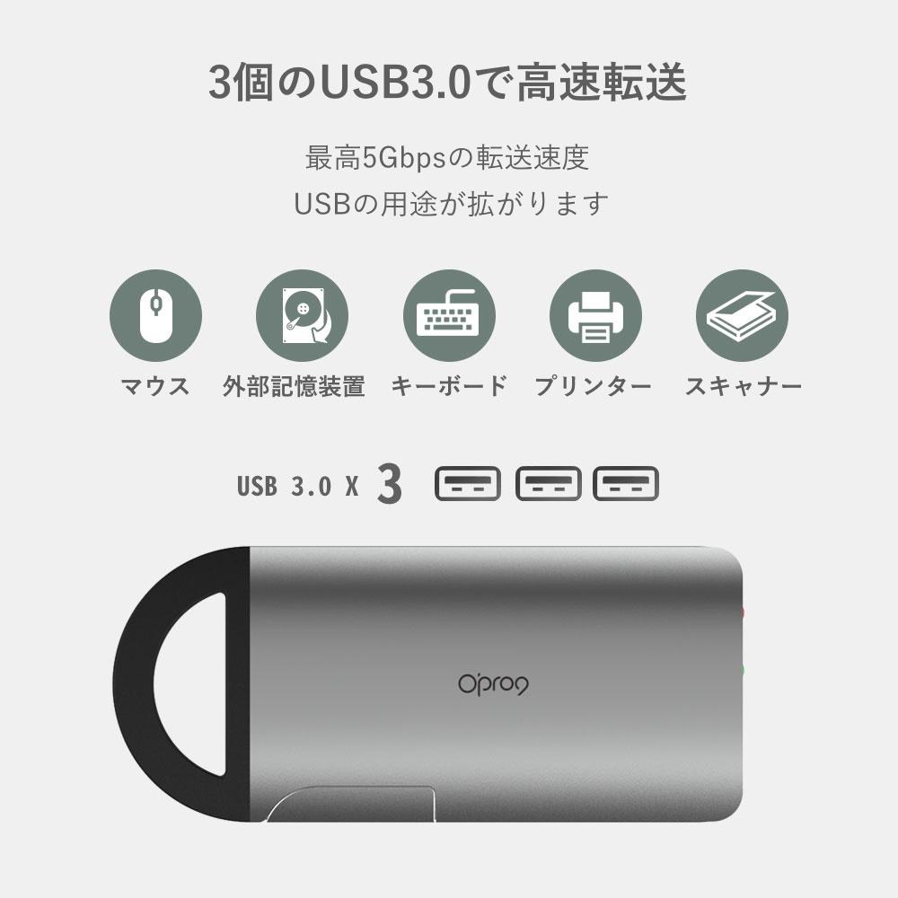 USB 3.0 で高速転送 最高5Gbpsの転送速度